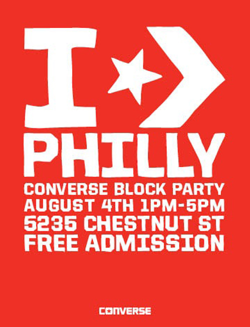 Converse Philly Block Party