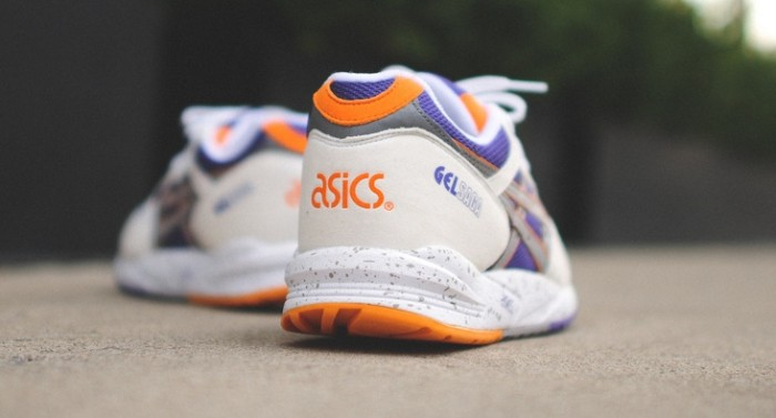 ASICS Gel Saga White Purple Orange