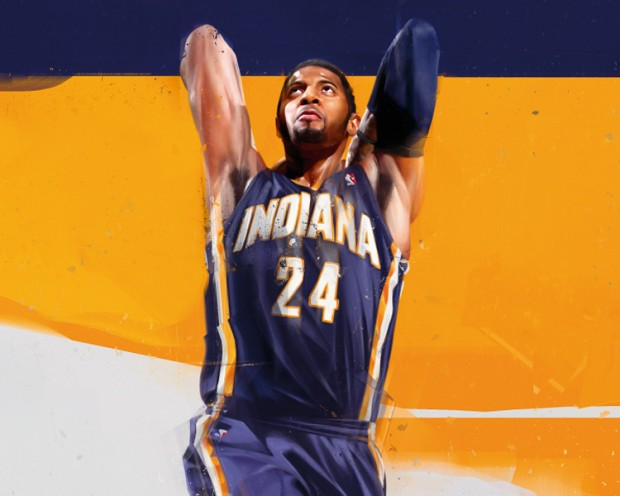 RareInk Paul George Art