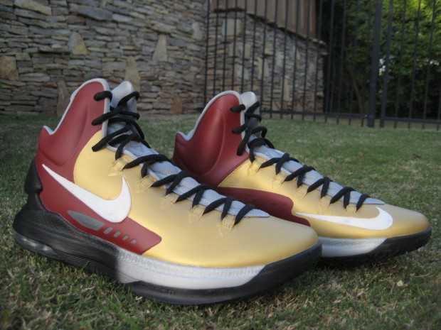 "Nike KD V ""Iron Man 3"" Custom"