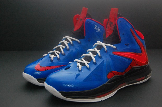 Spiderman LeBron X Custom
