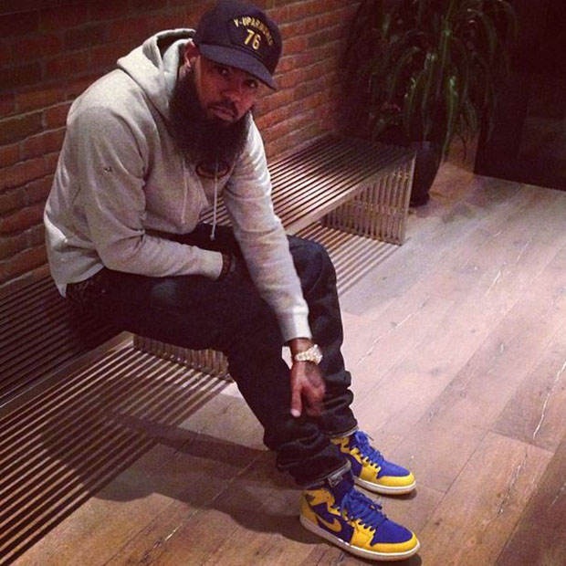 Stalley in the Air Jordan 1 High Laney