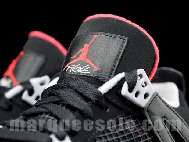 Air Jordan 4 GS Black/Cement Grey