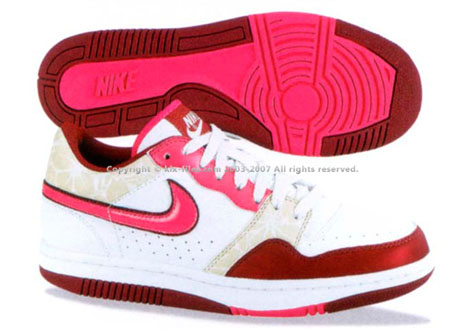 Nike Womens Court Force Low Basic Cherry Blossom