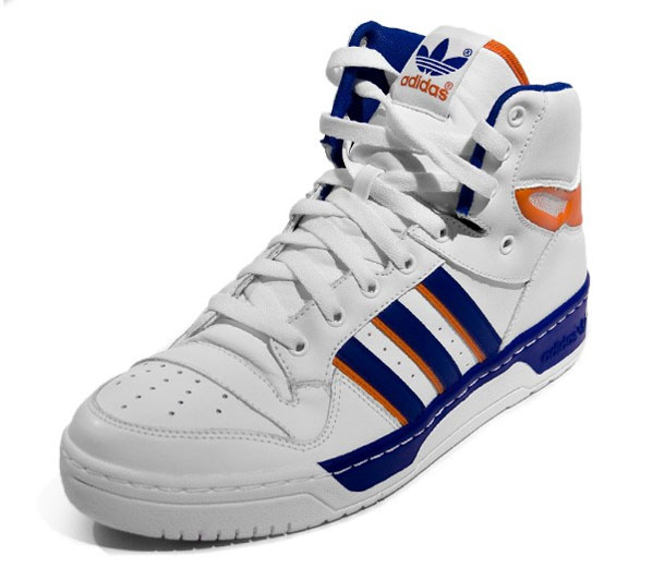 Adidas Attitude High - Running White/Orange/Collegiate Blue - #2