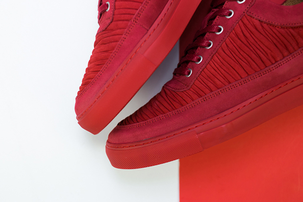Filling Pieces Wrinkled Leather Pack