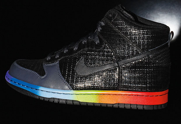 Nike Dunk Hi Rainbow Sneaker x Fall 2010