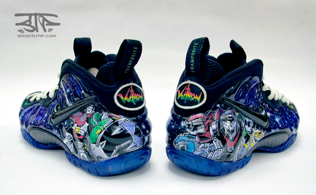 Nike Air Foamposite Pro Voltron Custom