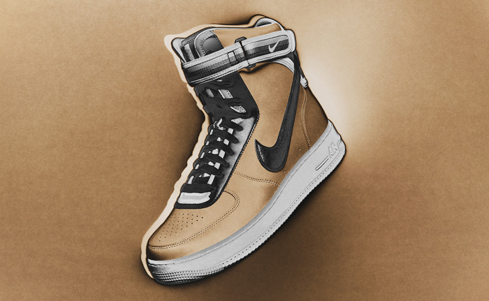 Nike R.T. Air Force 1 Beige Collection