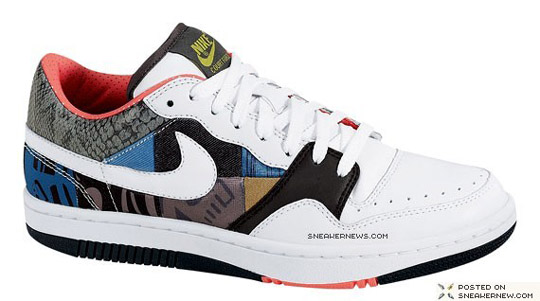 Nike Patchwork Court Force Low