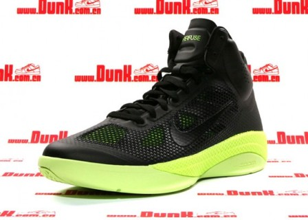 Nike Zoom Hyperfuse XDR – Black/Volt