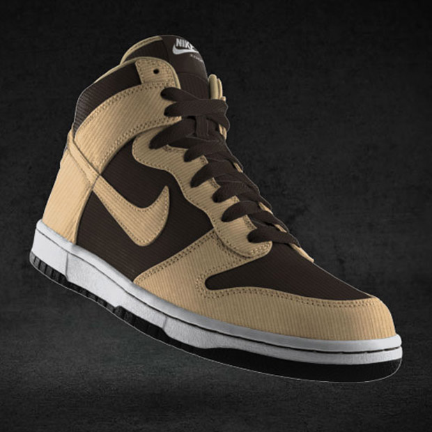 NikeiD Dunk High Premium New Options