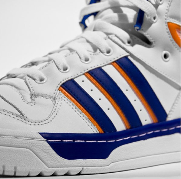 Adidas Attitude High - Running White/Orange/Collegiate Blue - #3