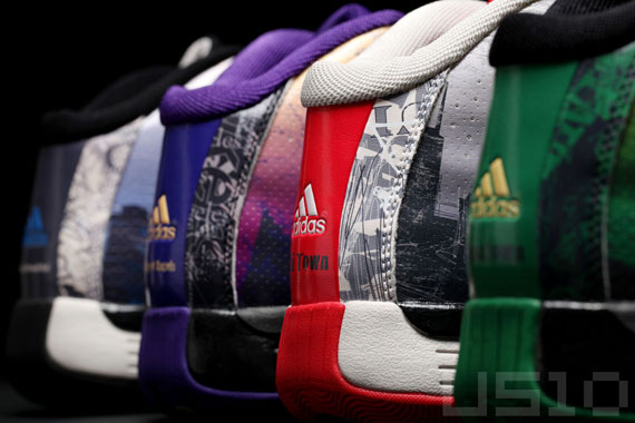 Adidas Pro Model 2010 NBA City Pack