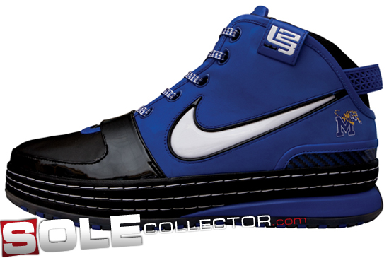 Nike Zoom Lebron 4 University of Memphis