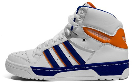 Adidas Attitude High - Running White/Orange/Collegiate Blue - #1