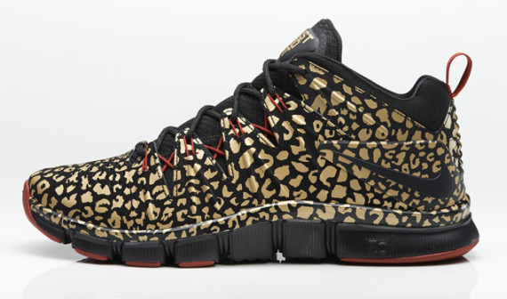 Nike Free Trainer 7.0 Gold Leopard