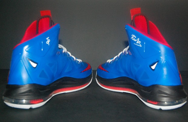 LeBron X Spiderman Custom