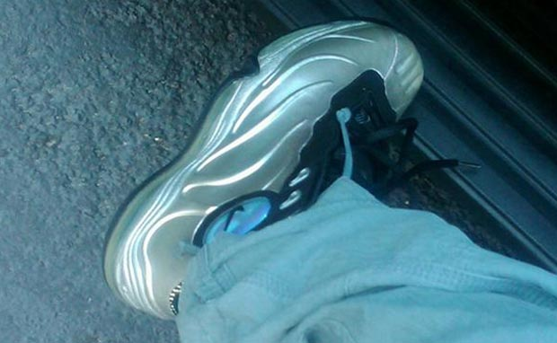 "Wale Rocks OG ""Metallic Silver"" Nike Total Air Foamposite Max"