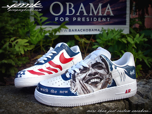 obama nike air force ones for sale