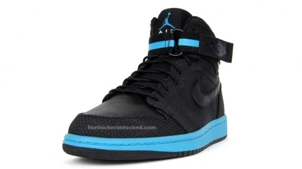 jordan logo black. Air Jordan 1 High Strap