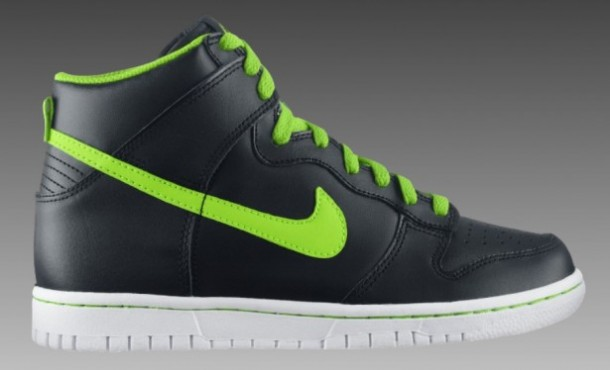 Just want to buy a pair of Nike Dunk High GS Black/Electric Green/White
