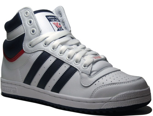 Adidas Top Ten Hi White/Navy Blue It is nice to see some classic looking
