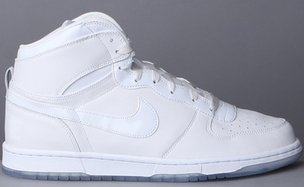High Tops Nike White. all white leather high top