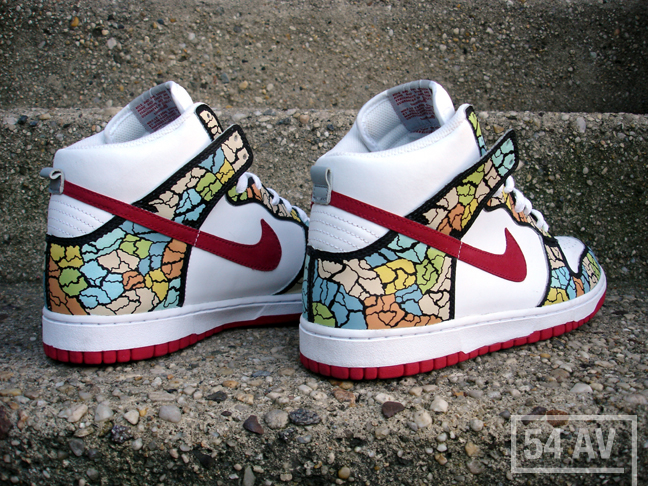 Nike Dunk High Custom