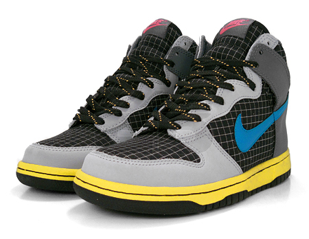Nike Dunk High GS Black/Neptune Blue/Gray